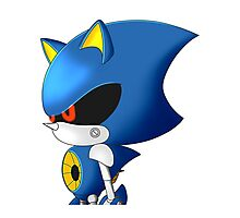 Metal Sonic Photographic Print