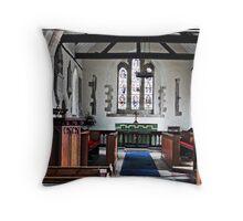 Yapton Church Throw Pillow