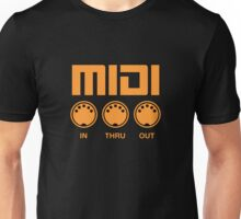 Orange Midi  Unisex T-Shirt