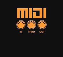 Orange Midi  T-Shirt