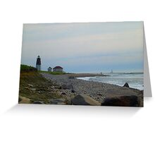 Point Judith Greeting Card