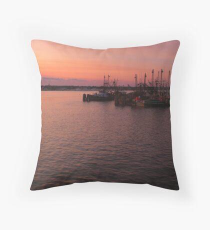 Harbor RI Throw Pillow