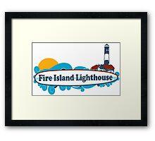 Fire Island - New York. Framed Print