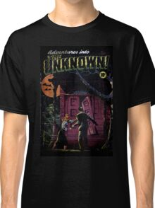 INTO THE UNKNOWN - SCARY RETRO POP ART Classic T-Shirt