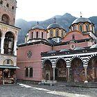 The Rila Monastery by Denitsa Dabizheva