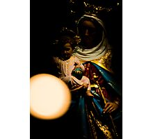 Mary & Jesus Photographic Print