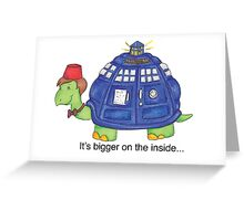Bigger on the Inside (11th) Greeting Card