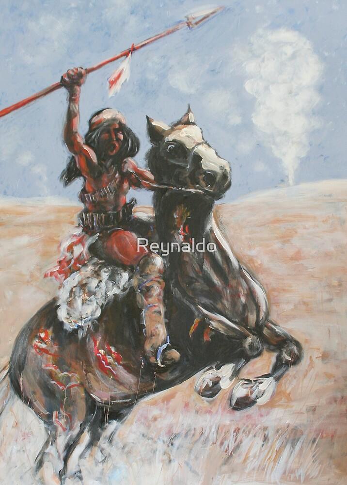 Comanche Smoke  by Reynaldo