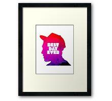 Mac Miller Best Day Ever  Framed Print