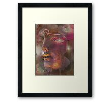 Tranquil is my Gaze Framed Print