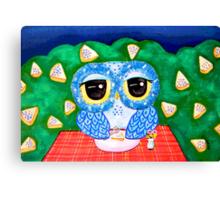 A Blueberry Night Canvas Print