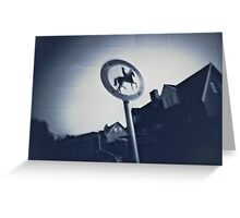 Pinhole Picture Greeting Card