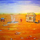 Old Tin Shed -Outback Australia by gillsart
