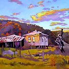 Deserted House at Payne's Crossing by Guntis Jansons