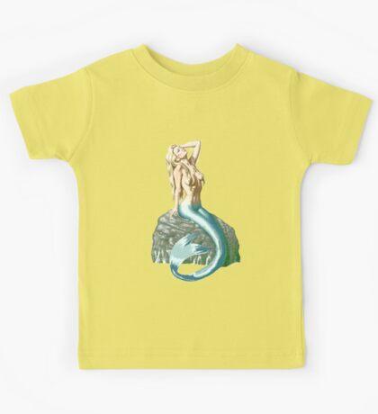 Mermaid on the Rocks Kids Tee