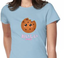 Oishii (delicious) Cookie! Womens Fitted T-Shirt