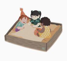 Baby Shenanigans - Sandbox Playtime by zhellyzee