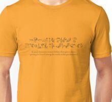 Good Discourse is More Hidden than Green Stone Unisex T-Shirt