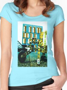 D'You Wanna Ride My Bicycle? Women's Fitted Scoop T-Shirt
