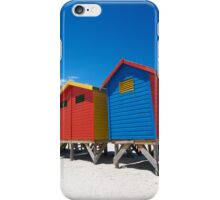 Bright Coloured bathing boxes iPhone Case/Skin