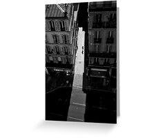 Paris Streets Greeting Card