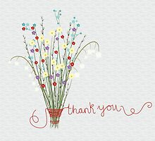 Thank You Flowers by coolstoryrobyn