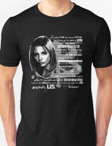 Buffy speech Unisex T-Shirt