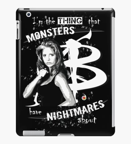 BUFFY: NIGHTMARES iPad Case/Skin