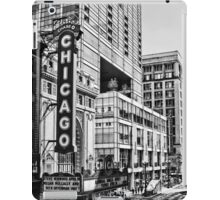 Chicago in Black and White iPad Case/Skin