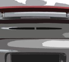 Porsche 997 Turbo Sticker
