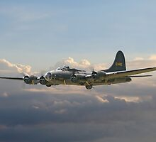 B17- Memphis Belle by Pat Speirs