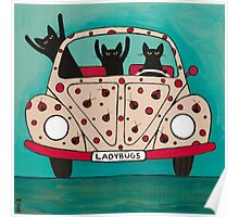 The Ladybugs Road Trip Poster