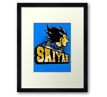 Team Saiyan Framed Print