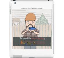 Home Improvement + The Legend of Zelda iPad Case/Skin