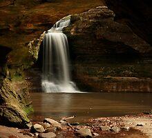 Cascade Falls Framed by Adam Bykowski