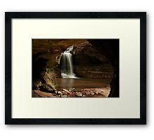 Cascade Falls Framed Framed Print