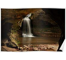 Cascade Falls Framed Poster