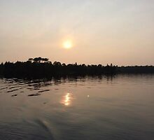 beautiful sunset by leximiller12