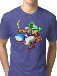 Monster World IV Tri-blend T-Shirt