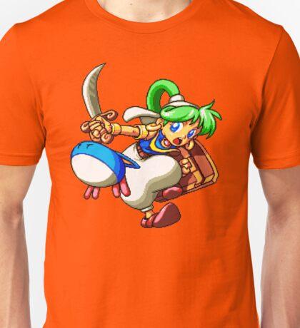 Asha (Monster World IV) - SEGA Genesis Sprite Unisex T-Shirt