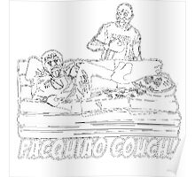Pacquiao Couch Poster