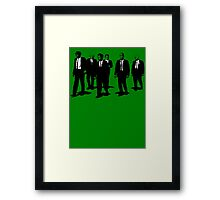Breaking Dogs Framed Print