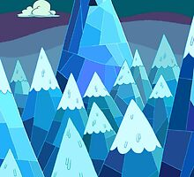"""Adventure Time- """"The Ice Kings Lair"""" by SirOrin"""
