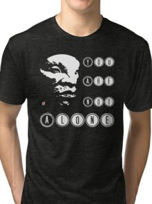 Face of BOE: You are not alone Tri-blend T-Shirt