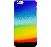 Distorted Sunset  iPhone Case/Skin
