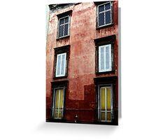 Apartments - Napoli Greeting Card