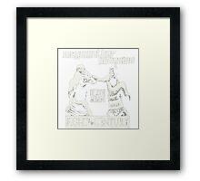 Century Fight Framed Print