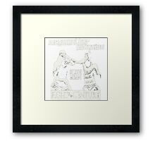 Century Fight Framed Print