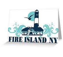 Fire Island - New York. Greeting Card