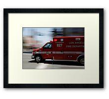 ambulance no. 827 Framed Print